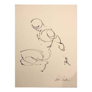 """Contemporary Ink on Paper Drawing """"Figure 46"""" by Mark Willems"""