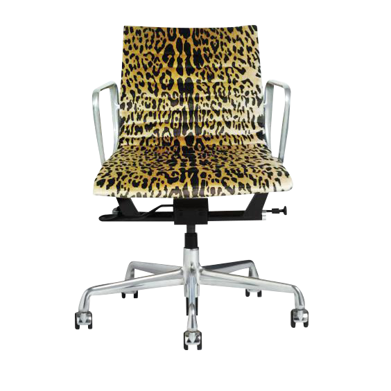 Attrayant Eames Scalamandre Leopard Office Chair