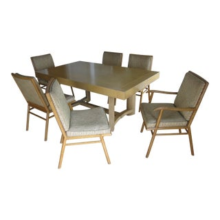 Robsjohn Gibbings Table And Chair Set For Sale