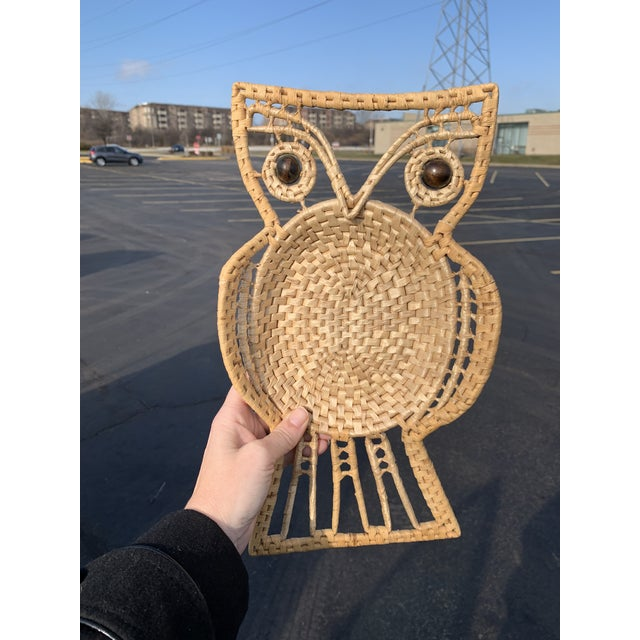 Vintage Owl Wall Hanging For Sale In Milwaukee - Image 6 of 8