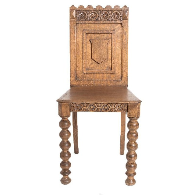 Baroque GERMANIC HALL CHAIR For Sale - Image 3 of 4