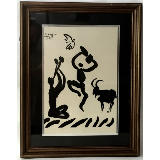 """1959 Picasso Lithograph """"Goat Dance"""" - Image 5 of 5"""