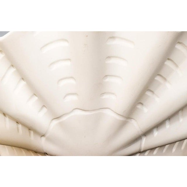 """White Sirmos """"Sand Dollar"""" Shell Form Chandelier For Sale - Image 8 of 11"""