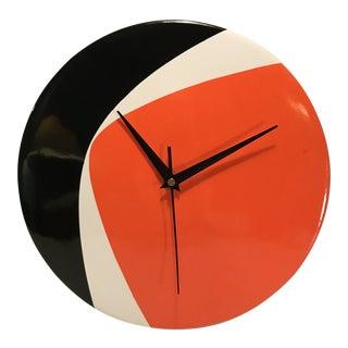 Soholm Danish Porcelain Wall Clock For Sale
