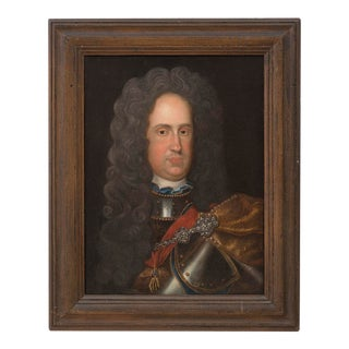Continental School 18th Century Portrait of Charles Vi, Holy Roman Emperor For Sale