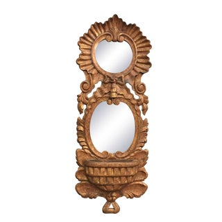 Chapman Hand-Carved Mirror