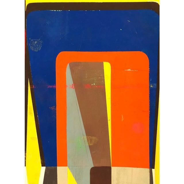 "Abstract Deborah Zlotsky ""Cinc"" For Sale - Image 3 of 5"