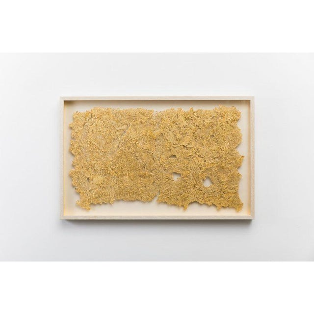 With Fragment, Sophie Coryndon masterfully explores the exquisite nature of honeycombs using cast acrylic polymer that has...