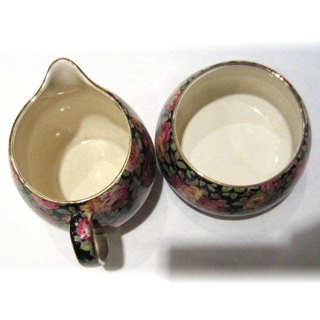 Royal Winton Chintz Cream & Sugar Set - Image 4 of 7