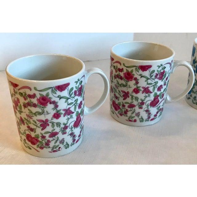 Mid-Century Modern Vintage Japanese Ceramic Tea or Coffee Mugs - Set of 6 For Sale - Image 3 of 12