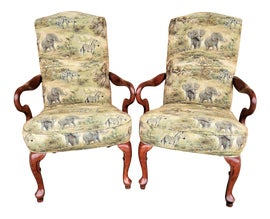 Image of African Lounge Chairs
