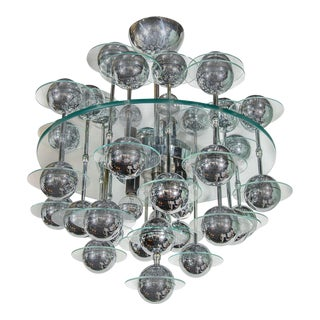 Mid-Century Modern Space Age Chandelier For Sale