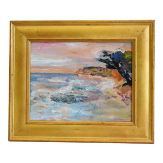Original Juan Guzman, Ventura California Ocean & Beach Oil Painting