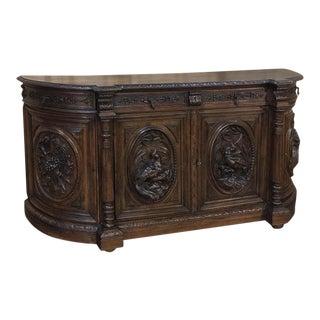 19th Century French Renaissance Hunt Buffet
