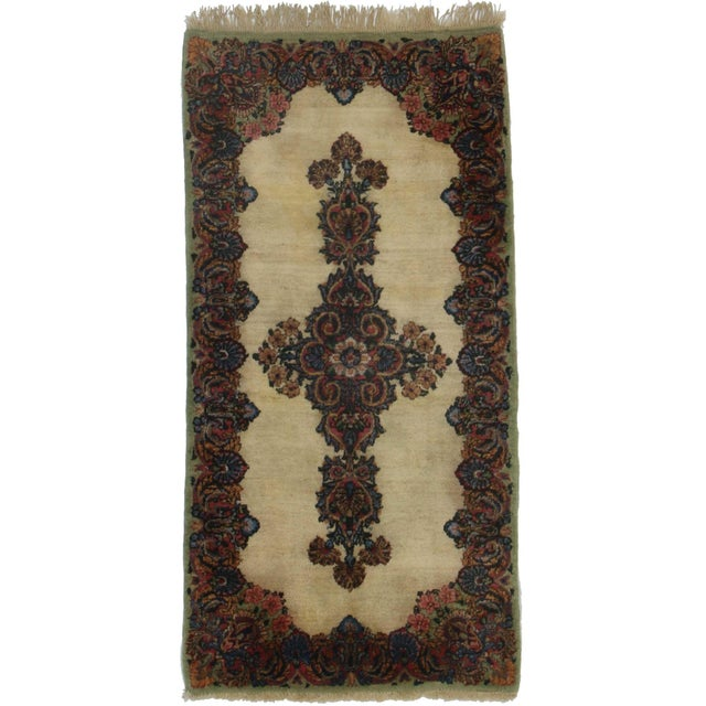 RugsinDallas Persian Kerman Hand Knotted Wool Rug- 2′2″ × 4′3″ - Image 1 of 2