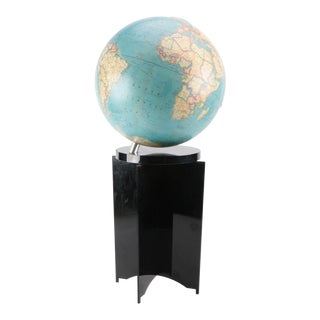 Vintage National Geographics Floor Globe For Sale