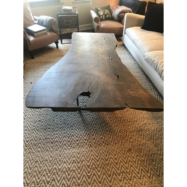 Iron ABC Home Reclaimed Wood Coffee Table For Sale - Image 7 of 8