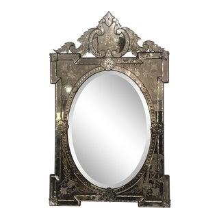 Vintage Venetian Wall Mirror