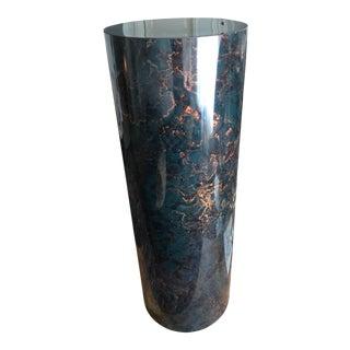 Vintage Marble Look Pedestal Column