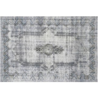 """Vintage Overdyed Persian Rug -- 6'8"""" x 9'8"""""""