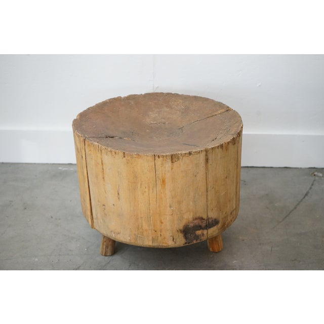 French Primitive Side Table For Sale - Image 3 of 9