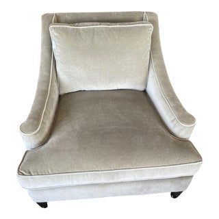 Arhaus Roxy Chair in Gray For Sale