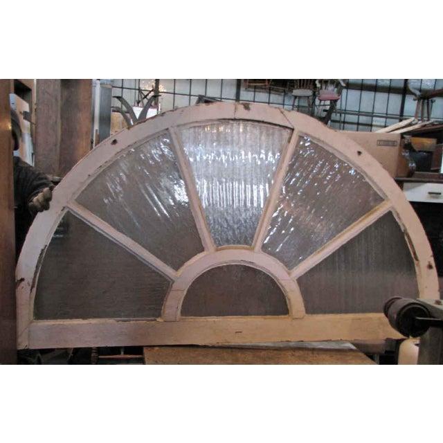 Reclaimed Fan Shaped Light Transom For Sale - Image 5 of 5