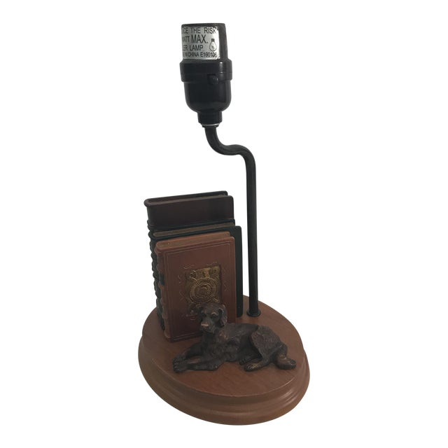 Dog and Book Collection Desk Lamp - Image 1 of 10
