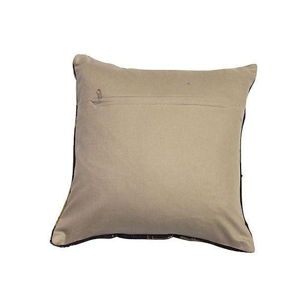 Vintage Kilim Fragment Pillow - Image 2 of 3