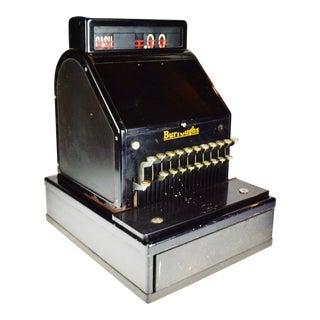 Antique Burroughs Cash Register For Sale