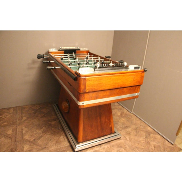1930s French Foosball Table For Sale - Image 6 of 13