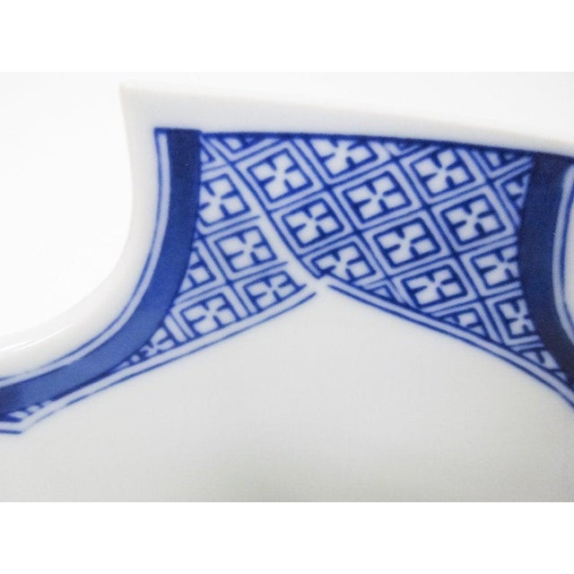 1990s Vintage Mottahedeh Monteith Blue and White Bowl For Sale In Houston - Image 6 of 8