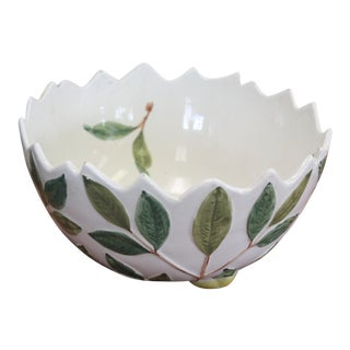 Jagged Lemon Bowl For Sale
