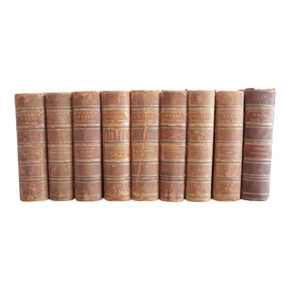 Bancrofts Works Leather Bound Books - Set of 9 Volumes For Sale