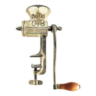 Antique Hibbard, Spencer, Bartlett and Company # 700 Food Chopper or Grinder For Sale