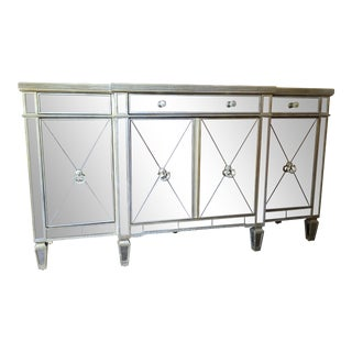 Borghese Mirrored Buffet Cabinet For Sale