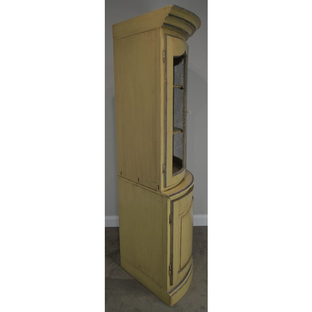 Grange French Country Style Corner Cabinet For Sale - Image 4 of 13