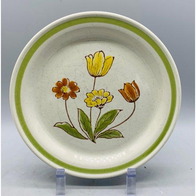 Ceramic Vintage Country Mismatched Salad Plates - Set of 5 For Sale - Image 7 of 12