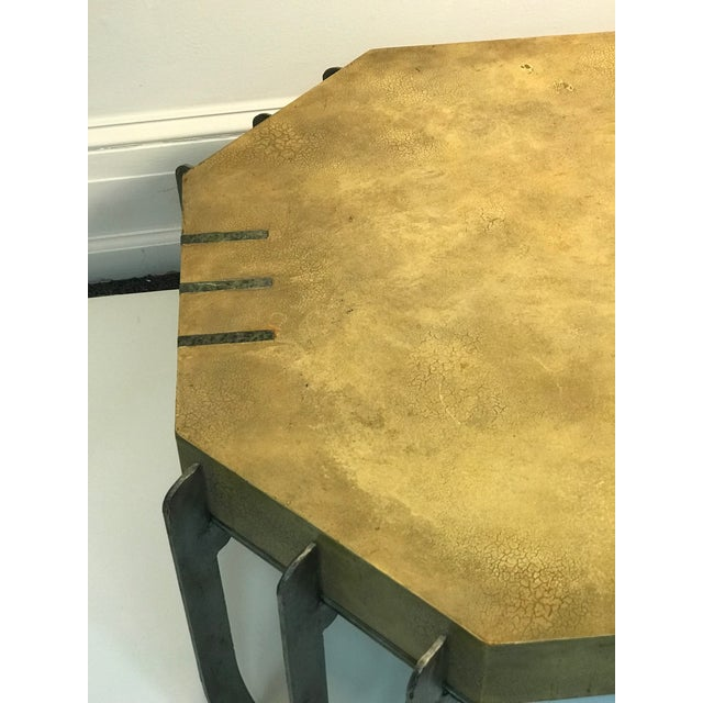 Late 20th Century Deco Revival Coffee Table or Center Table For Sale - Image 5 of 6