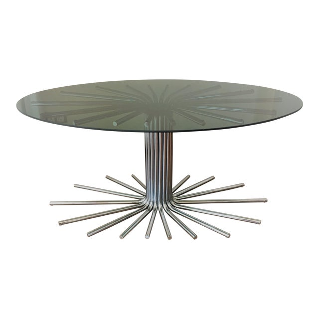 Mid-Century Chrome Starburst Dining Table For Sale - Image 12 of 12