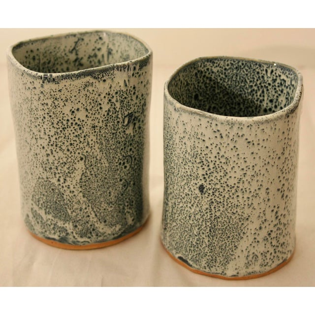 Studio Pottery Vases - A Pair - Image 2 of 11
