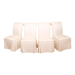 Roche Bobois Upholstered Dining Chairs - Set of 4