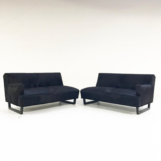 This beautiful mid-century sofa underwent a meticulous interior restoration. The Forsyth design team hand-selected our...
