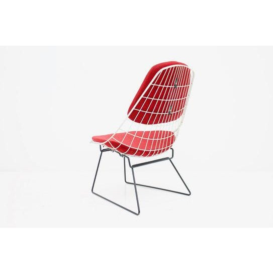 1950s Early Wire Chair by Cees Braakman for Pastoe, 1958 For Sale - Image 5 of 12