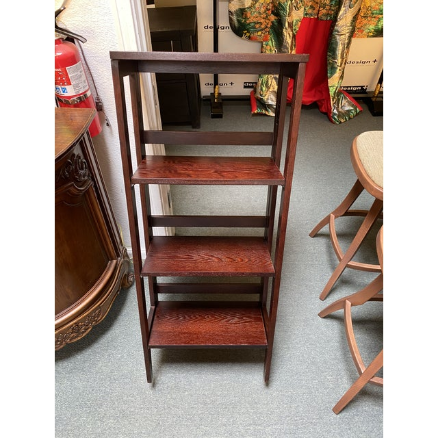 Folding Bookcase For Sale - Image 10 of 11