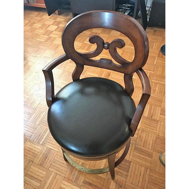 Woodbridge Furniture Armless Bar Stool - Image 4 of 6