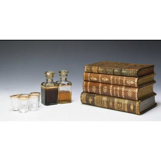 From Paris: A Tantalus Decanter Set Concealed in Books Preview