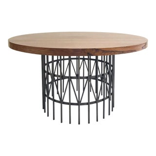 Milo Baughman Rosewood and Brass Coffee Table For Sale