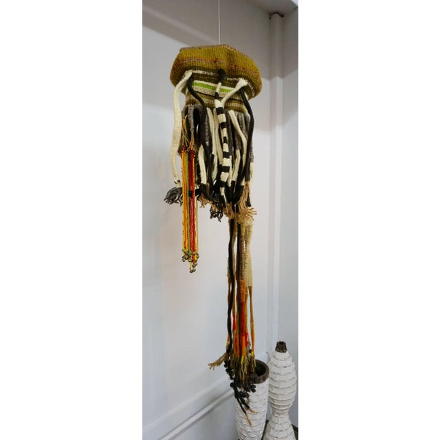 """Fiber Art Hanging by Walter """"Chappy"""" Chapman For Sale In Palm Springs - Image 6 of 7"""