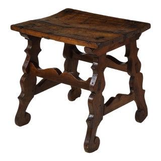 17th Century Walnut Trestle Table For Sale